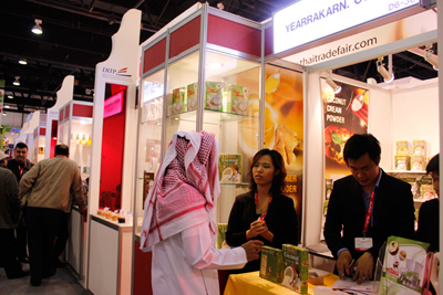 งาน Gulf food 2013 ณ เมือง Dubai, UAE
